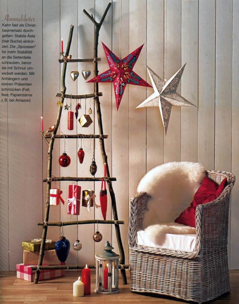 Diy Christmas Decoration  23 Creative And Unusual DIY Christmas Tree Ideas