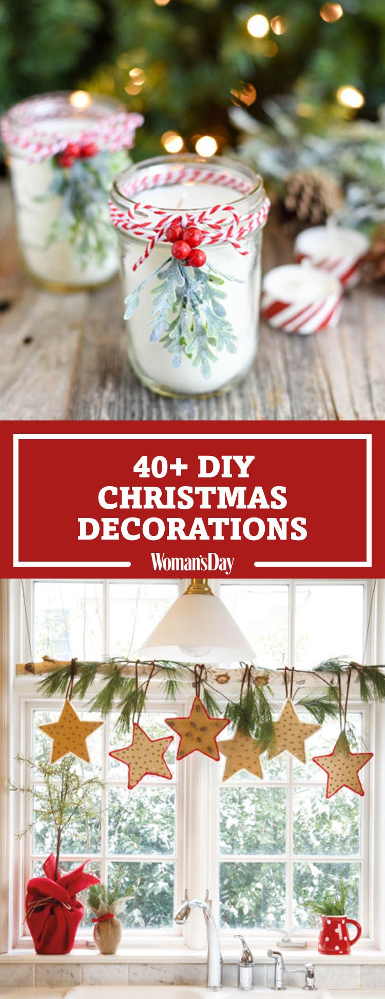 Diy Christmas Decoration  47 Easy DIY Christmas Decorations Homemade Ideas for