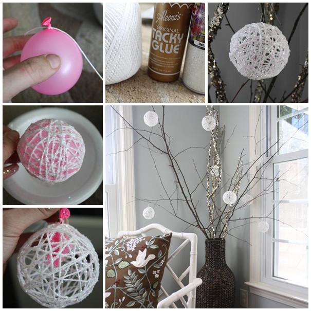 Diy Christmas Decoration  Wonderful DIY 30 Homemade Christmas Ornaments