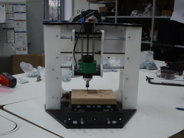 Diy Cnc Mill  123Mill DIY CNC Desktop milling machine by dimrobotics