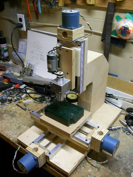 Diy Cnc Mill  DIY CNC