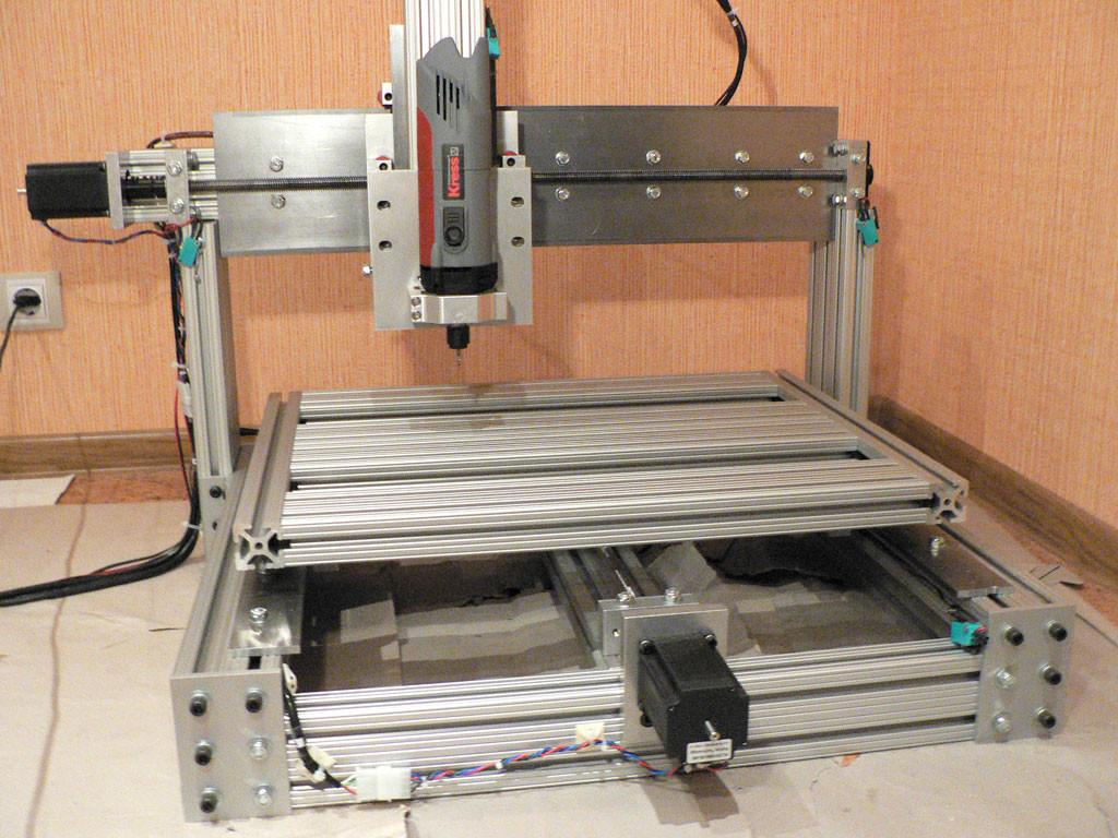 Diy Cnc Mill  DIY homemade CNC machine router mill set of plans