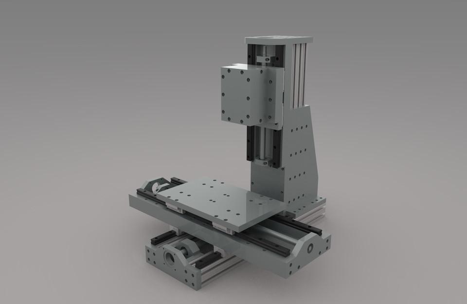 Diy Cnc Mill  DIY cnc mill 3D CAD Model Library