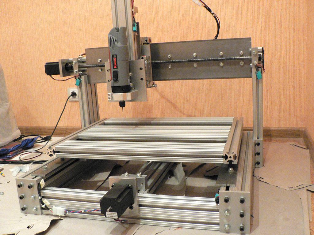 Diy Cnc Mill  DIY CNC machine pics and videos