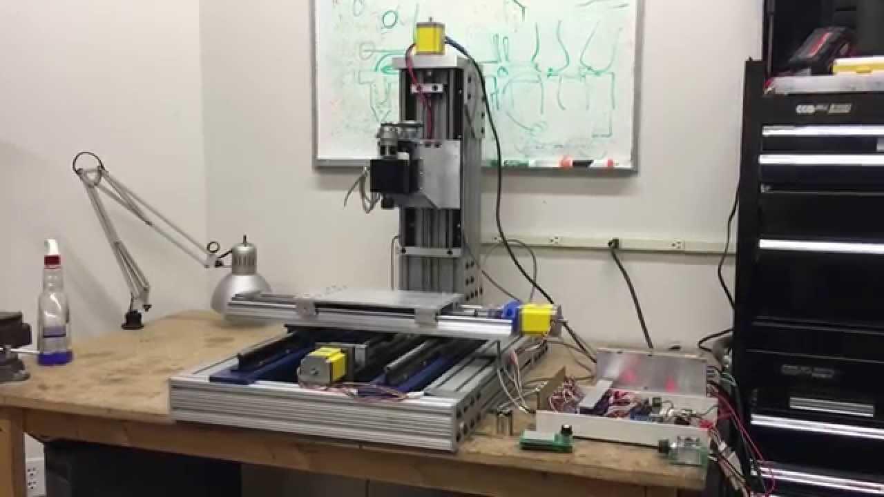 Diy Cnc Mill  DIY CNC Mill Build Description