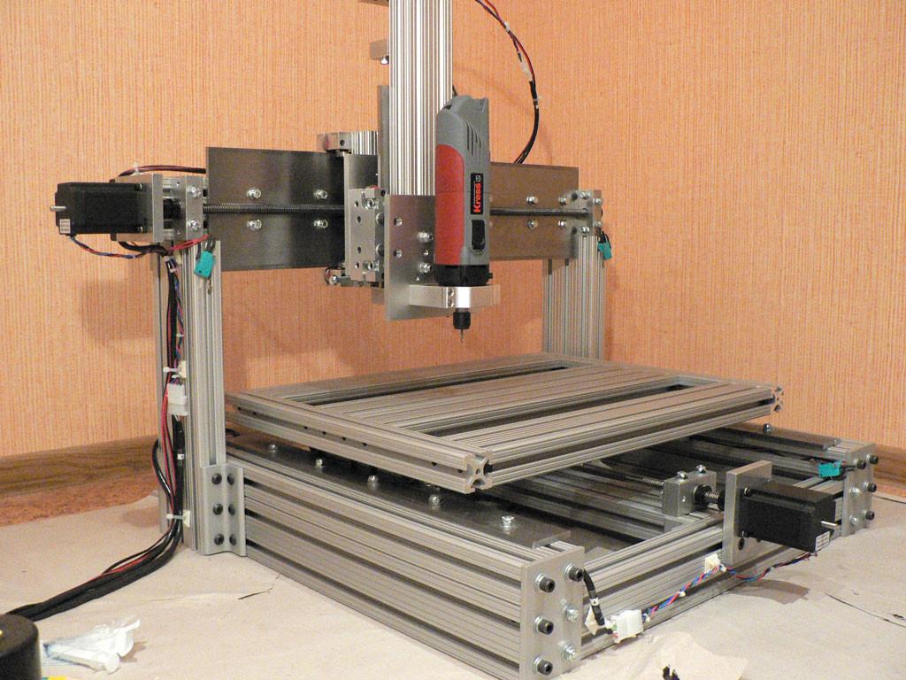 Diy Cnc Mill  CNC machine router DIY plans