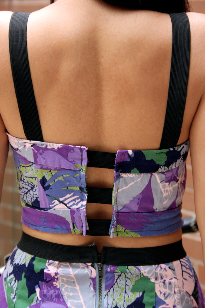 Diy Crop Top  DIY Matching Cropped Top and Skirt – My Little Secrets