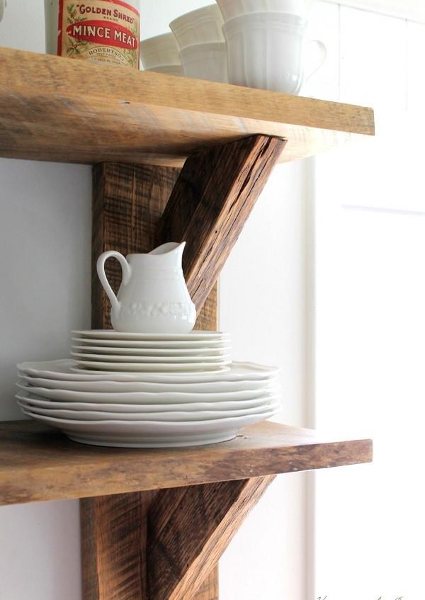 Diy Deko Ideen  DIY Deko Ideen aus wiedergewonnenem Holz