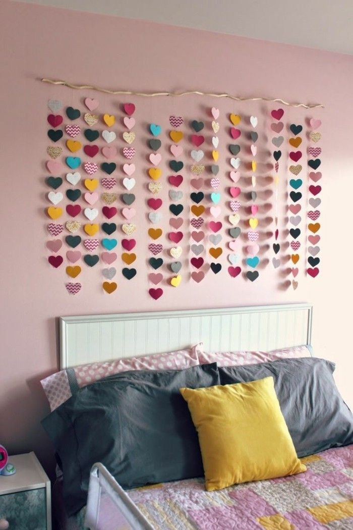 Diy Deko Jugendzimmer  Die besten 25 Wanddeko kinderzimmer Ideen auf Pinterest