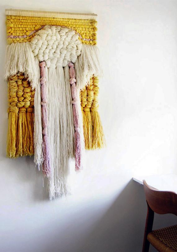 Diy Deko Wand  Wandbehang Deko selber machen fresHouse