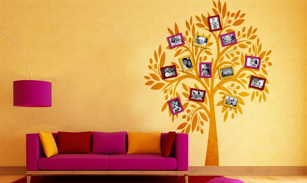Diy Deko Wand  Top DIY Ideen für Deine Wohnung Kreative Deko Tipps mit