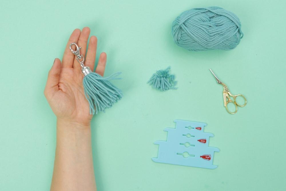 Diy Eule Instagram  Taschenanhänger aus Tasseln DIY Eule