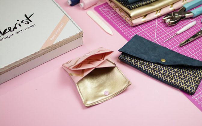 Diy Eule Instagram  Portemonnaie und Clutch nähen DIY Eule
