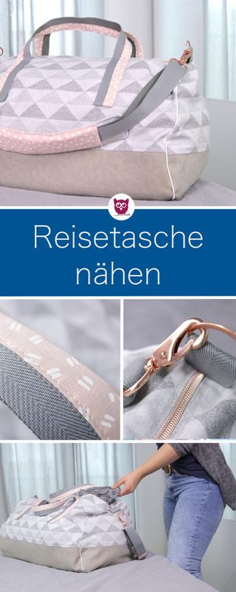 Diy Eule Instagram  Reisetasche nähen und individualisieren DIY Eule