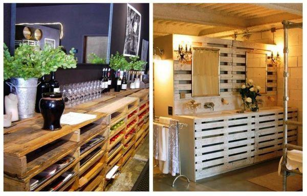Diy Europaletten  DIY Möbel aus Europaletten – 101 Bastelideen für