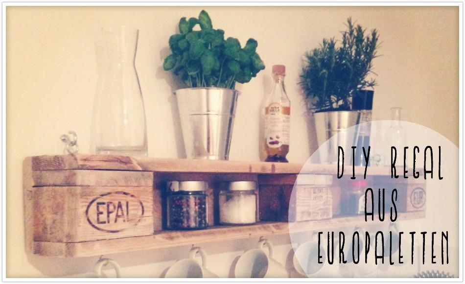 Diy Europaletten  DIY Wandregal aus Europaletten felicity DIY Blog