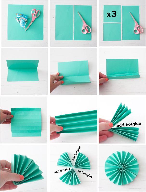 Diy Fan  Paper Fans on Pinterest