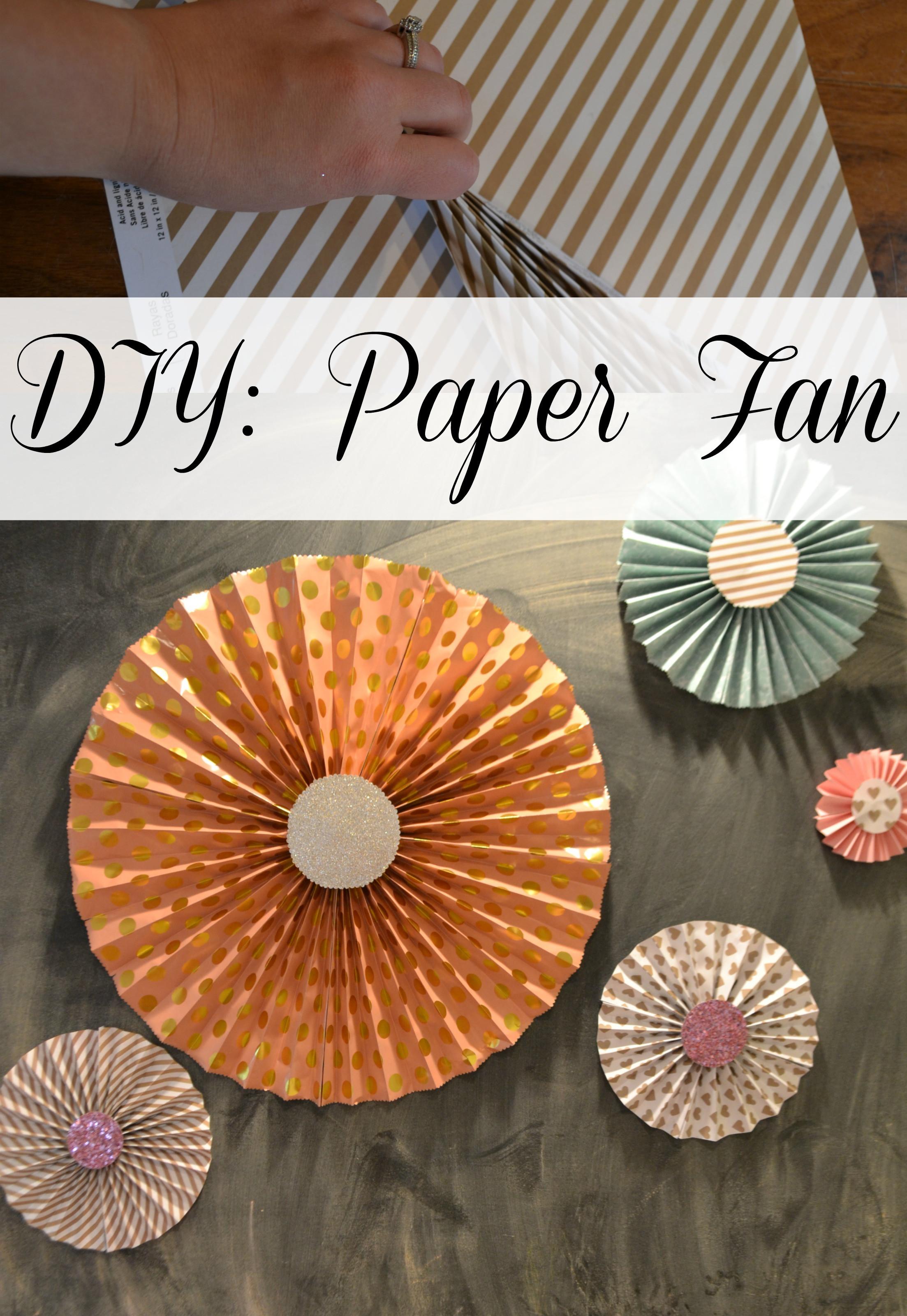Diy Fan  DIY Paper Fans Moms Without Answers