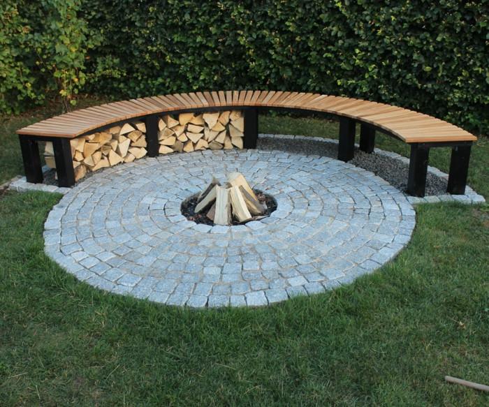 Diy Feuerstelle  Feuerstelle bauen eine Idee für genussvolle Gartenstunden