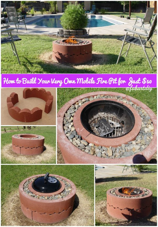 Diy Feuerstelle  Ideen Wie DIY Beton Feuerstelle