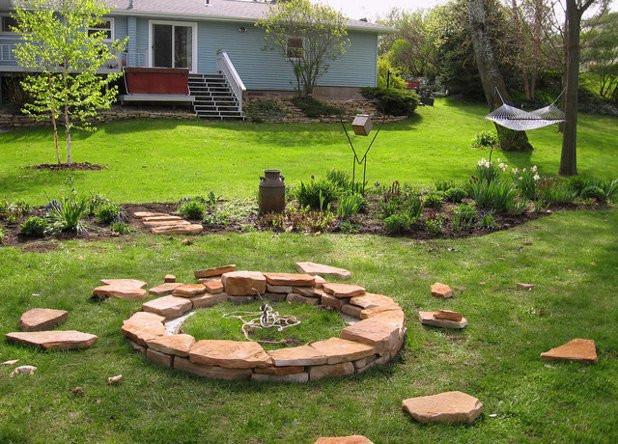 Diy Feuerstelle  Feuerstelle im Garten bauen Anleitung mit Tipps & Ideen
