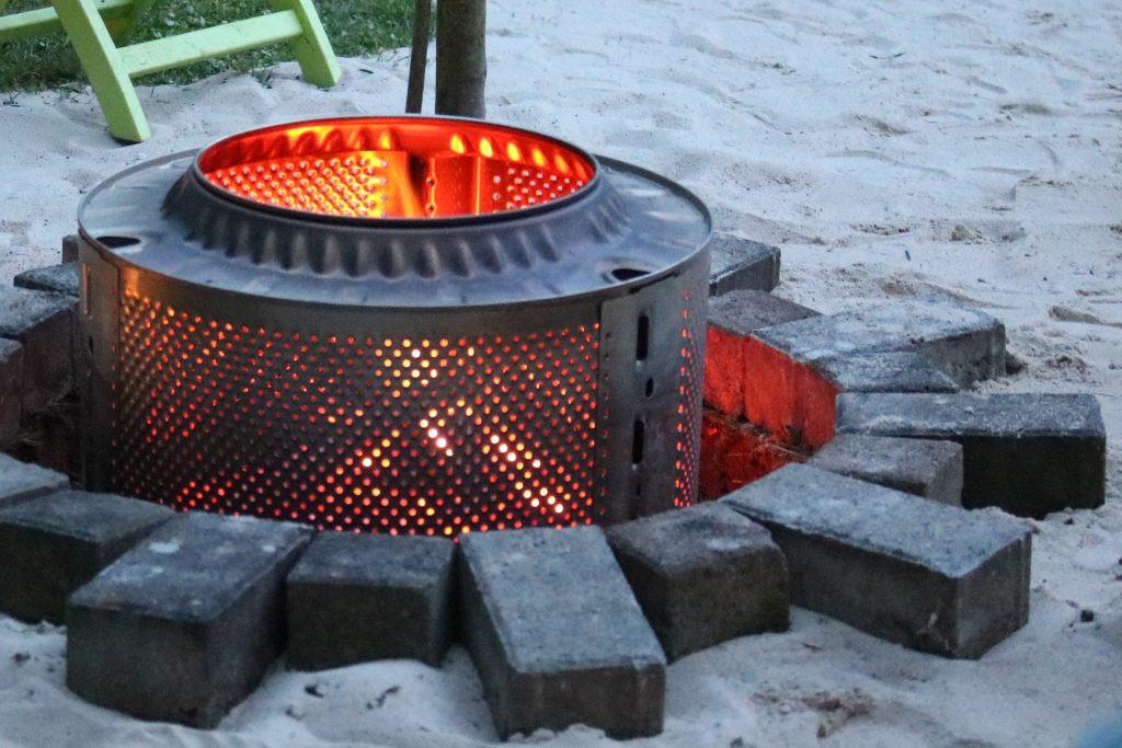 Diy Feuerstelle  DIY Wie man aus einer WASCHMASCHINENTROMMEL eine