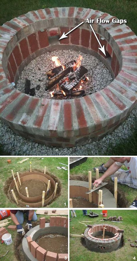 Diy Feuerstelle  30 großartige DIY Ideen um aus ein paar Pflastersteinen