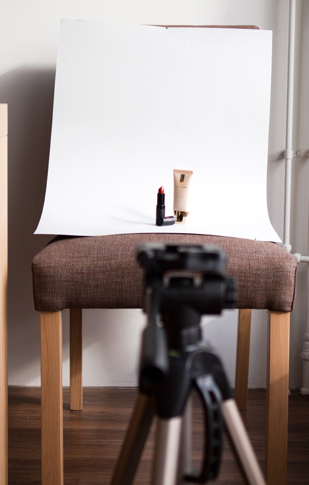 Diy Fotostudio  DIY fotostudio voor beauty producten