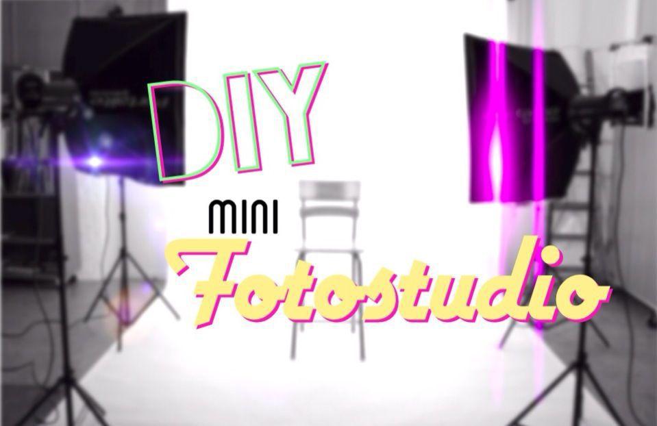 Diy Fotostudio  Diy basteln Mini Fotostudio Wattpad