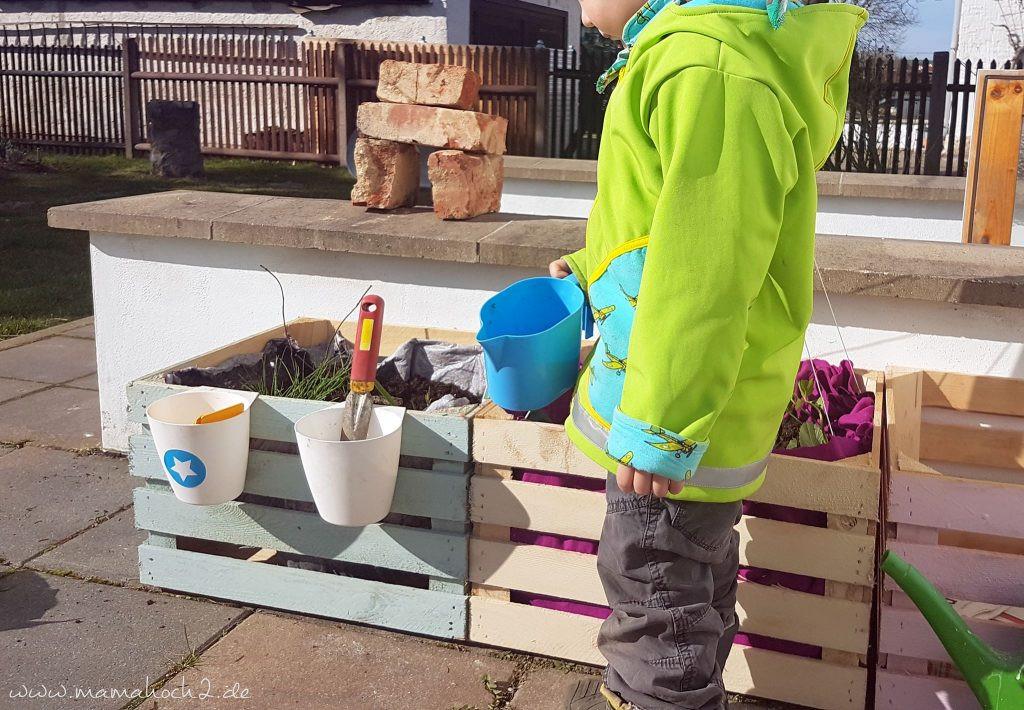 Diy Für Kinder  zum Nachmachen ein DIY Hochbeet für Kinder in 5 Minuten
