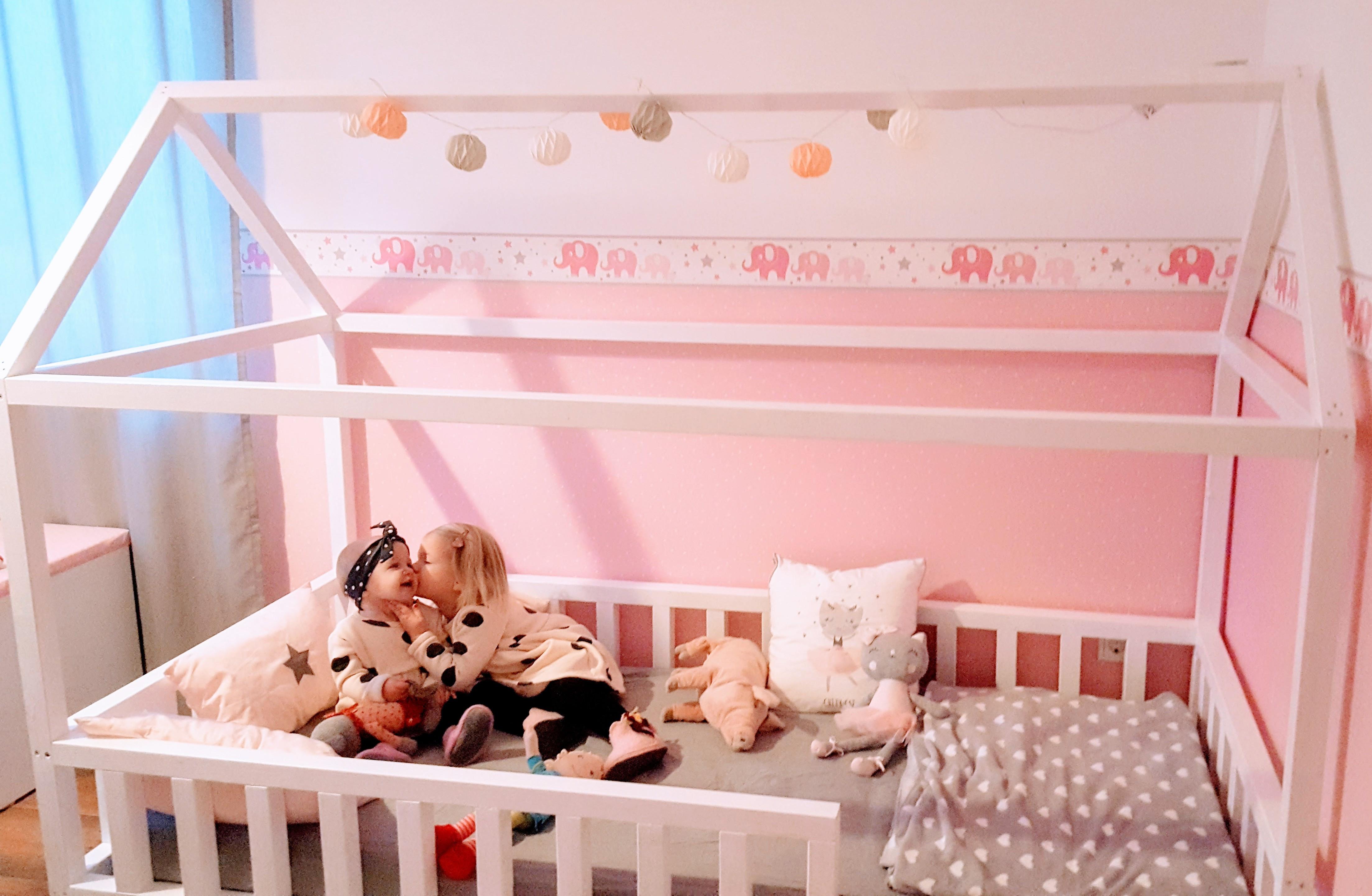 Diy Für Kinder  DIY Hausbett für Kinder – gabelschereblog