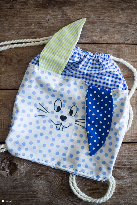 Diy Für Kinder  DIY Hasenrucksack für Kinder kreativfieber