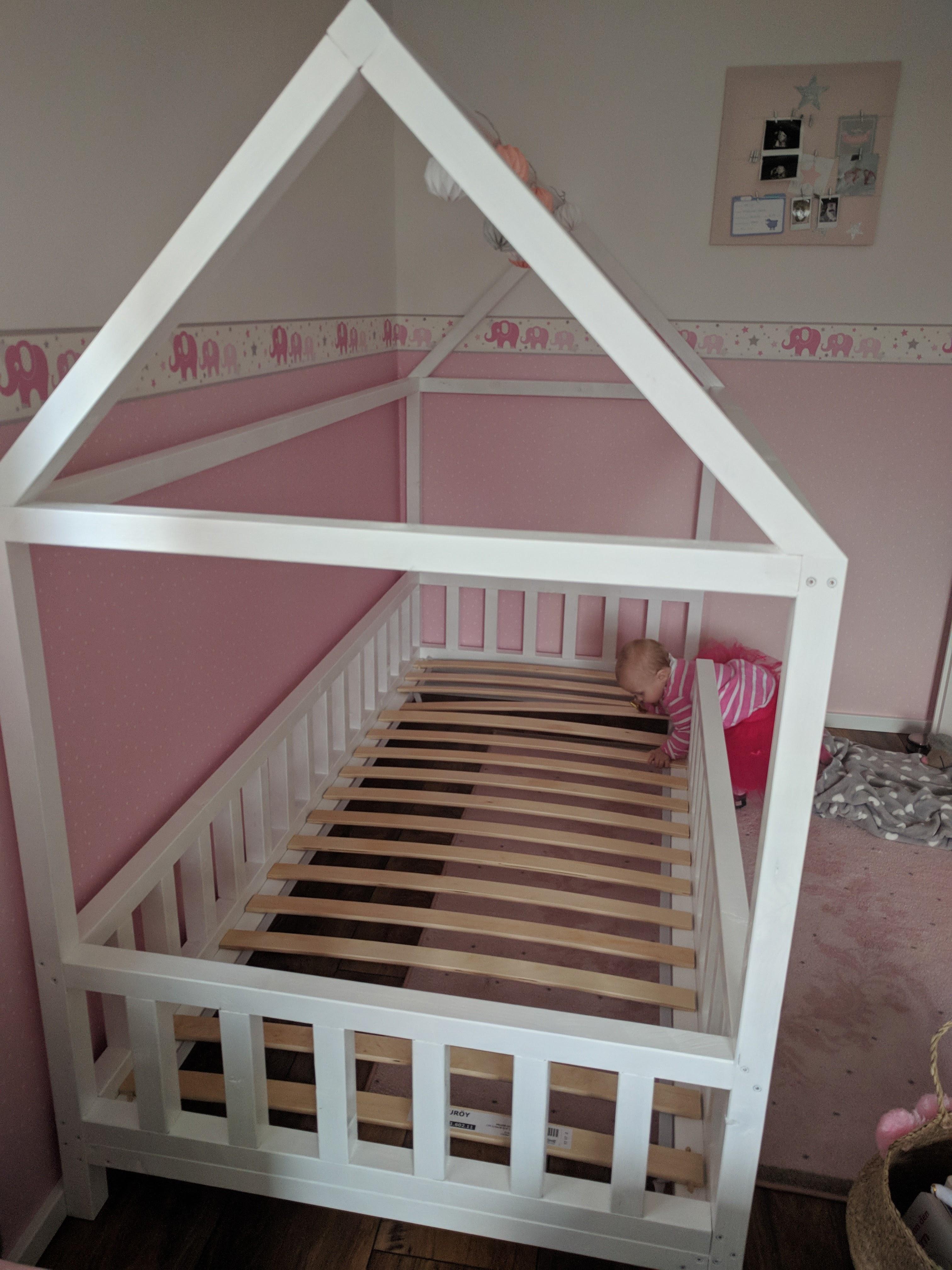 Diy Für Kinder  DIY Hausbett für Kinder 6 – gabelschereblog