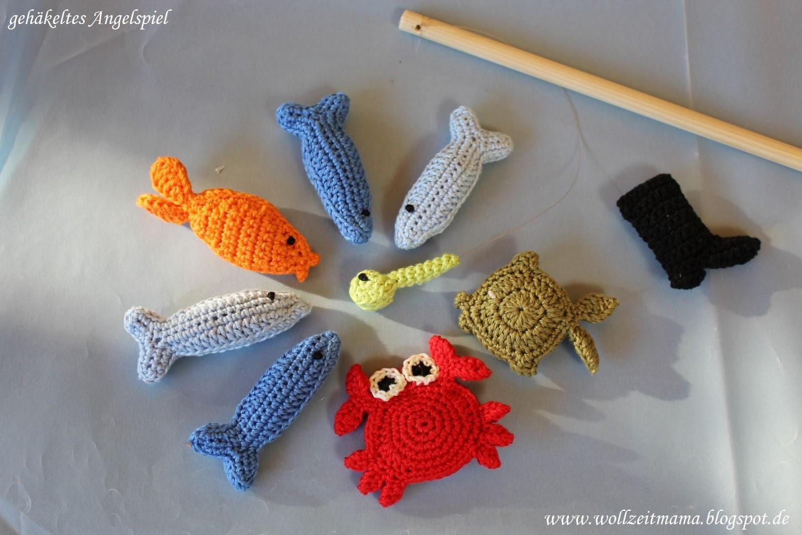 Diy Für Kinder  Wollzeitmama DIY Angelspiel für Kinder häkeln