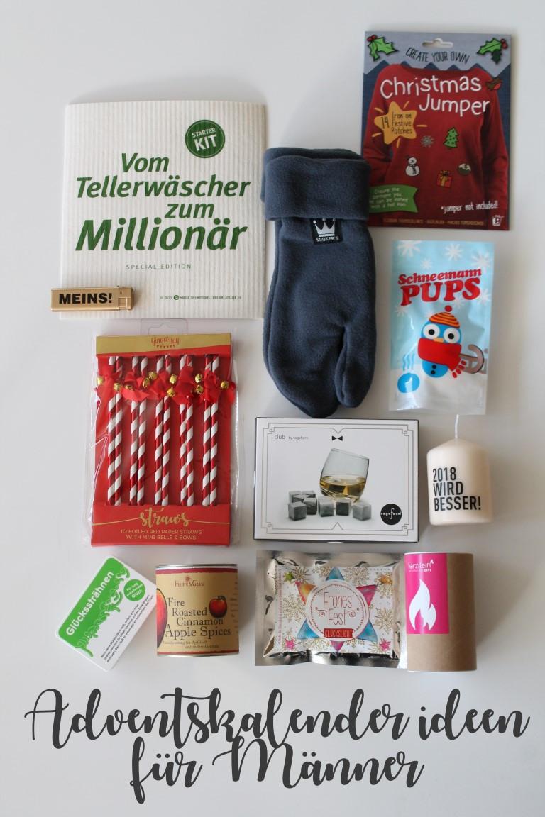 Diy Für Männer  Kleines Freudenhaus DIY Adventskalender Tüte und