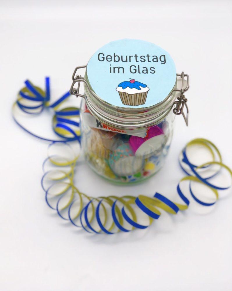 Diy Geburtstag  DIY Geschenke zum Geburtstag einfache Geschenkideen im Glas