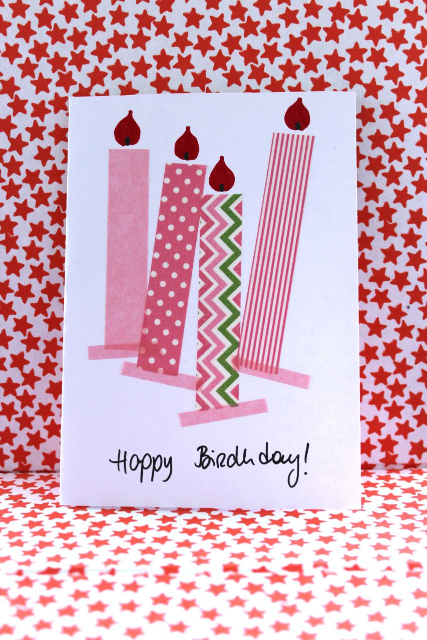 Diy Geburtstagskarten  DIY – Geburtstagskarten für Mädchen und Jungen