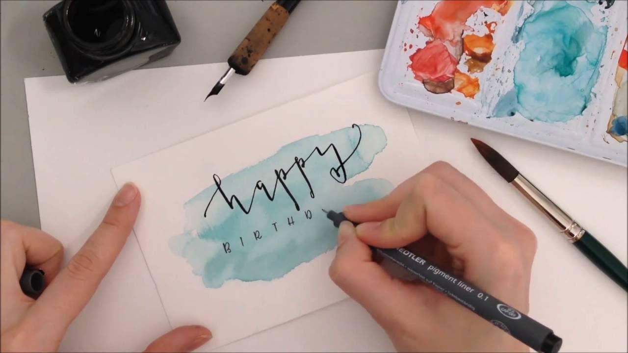 Diy Geburtstagskarten  Geburtstagskarte DIY Anleitung auf eineckig