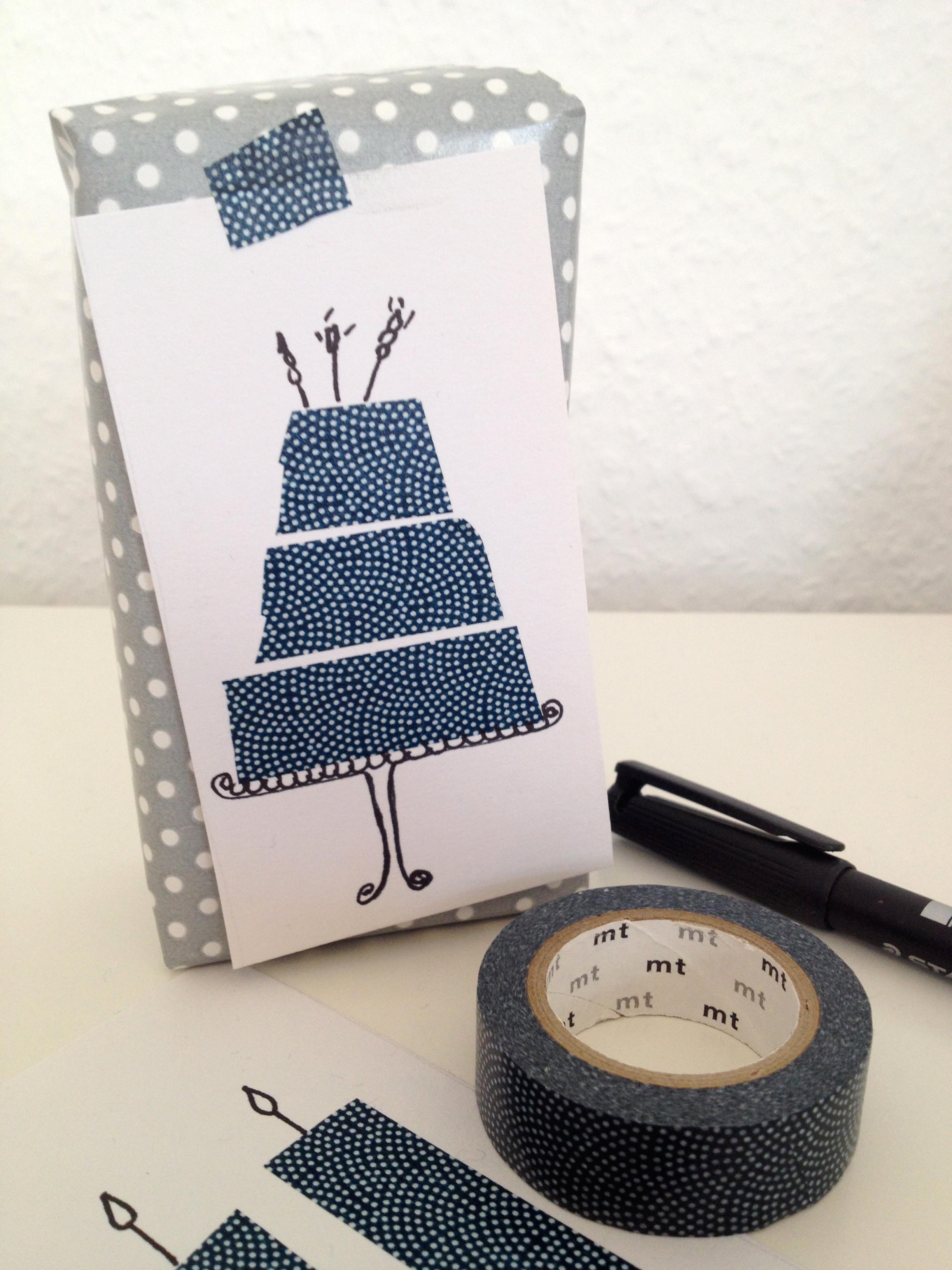 Diy Geburtstagskarten  DIY – schnelle Geburtstagskarte mit Maskingtape