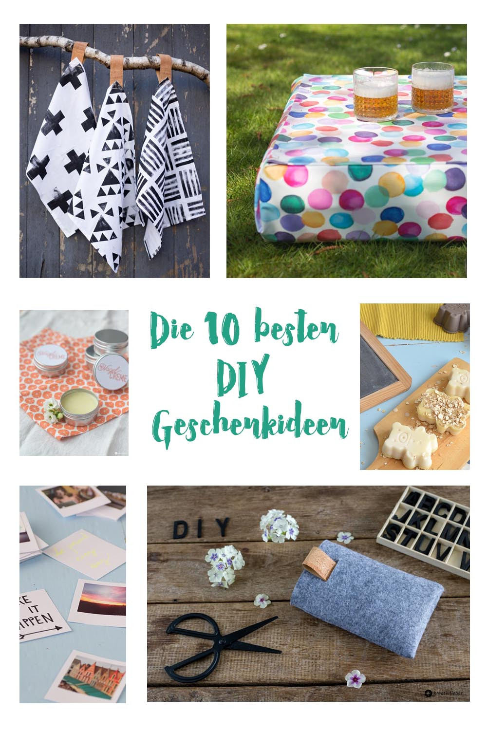 Diy Geschenk  Best of DIY Geschenke