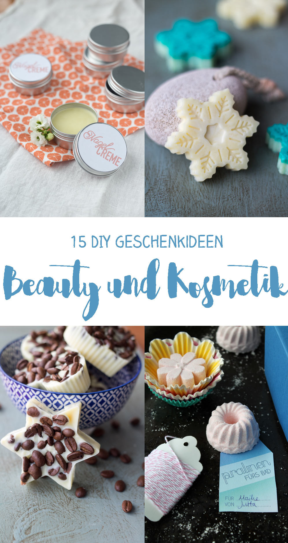 Diy Geschenk  15 DIY Kosmetik Geschenkideen zum Selbermachen