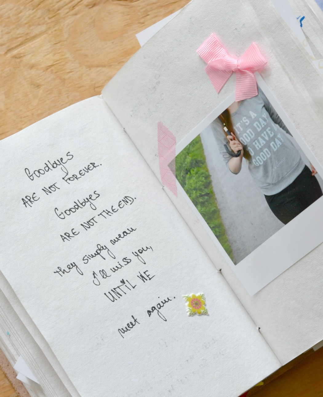 Diy Geschenk Für Freund  DIY Wenn beste Freundin geht ein Abschiedsbuch
