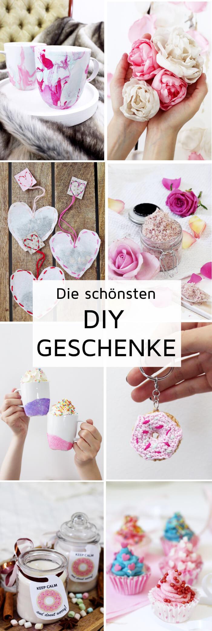 Diy Geschenk Für Freund  DIY Geschenke selber machen Kreative Geschenkideen basteln