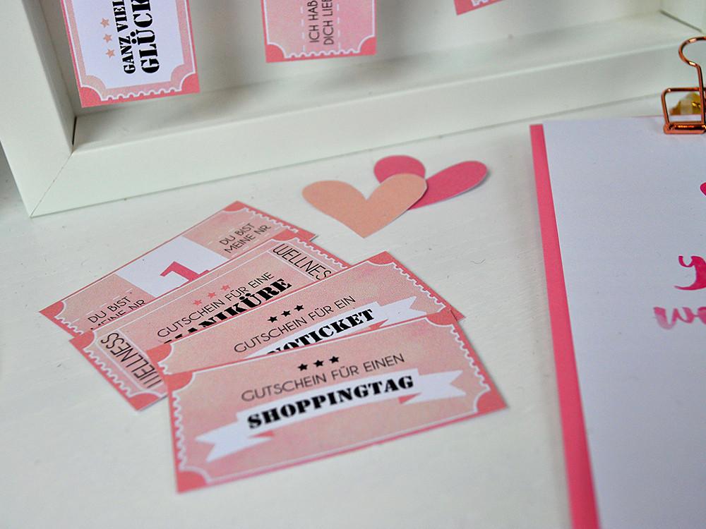 Diy Geschenk Für Freund  Geschenk zur Geburtstagsparty Gifts of love