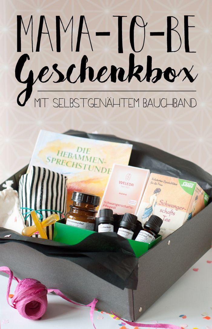 Diy Geschenke Für Mama  Mama to Be Geschenk und DIY Bauchband