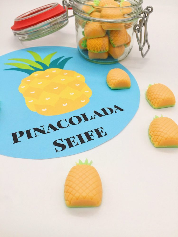 Diy Geschenke Für Mama  Pinacolada Ananas Seife selber machen › Happy Dings