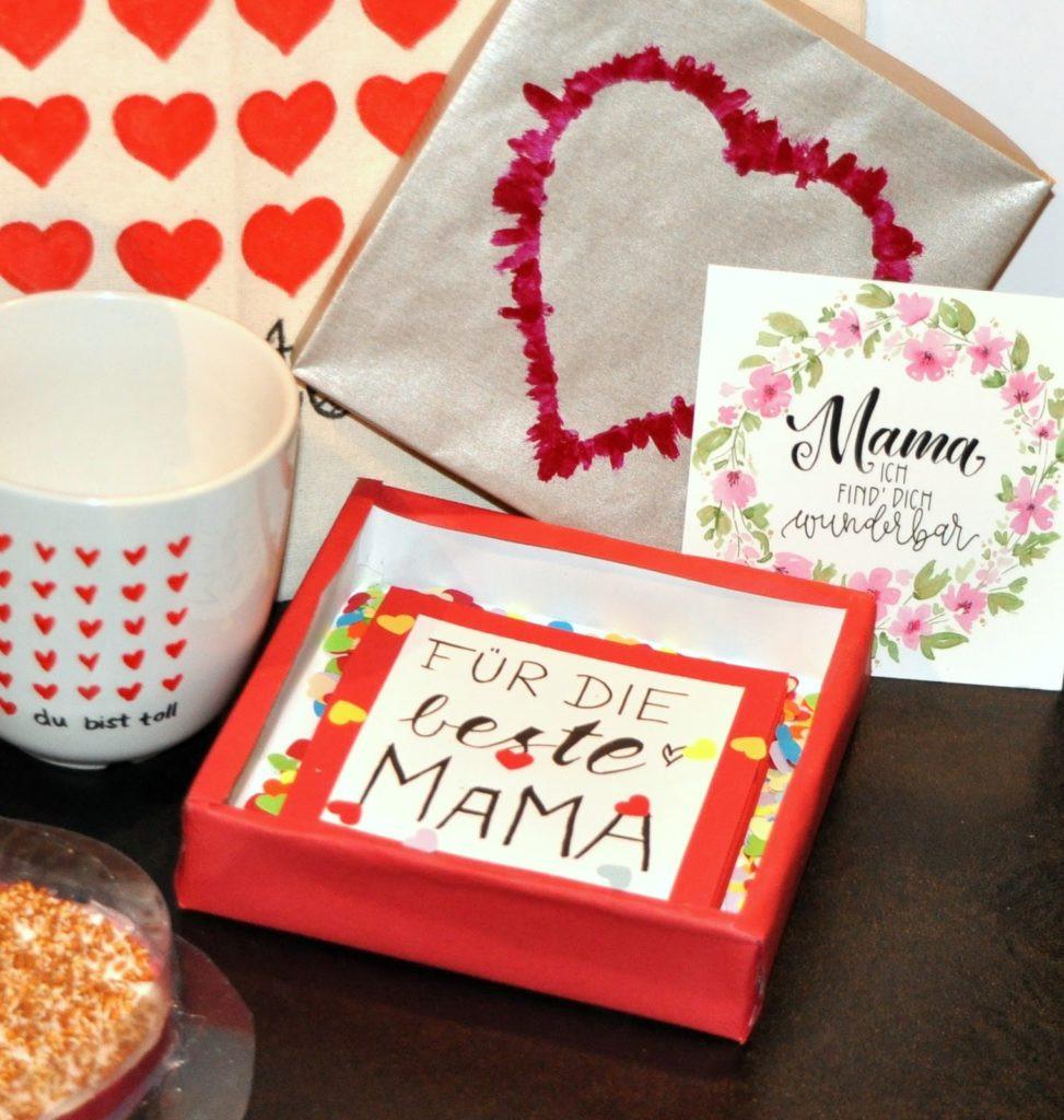 Diy Geschenke Für Mama  DANKE MAMA Schöne DIY Geschenke zum Muttertag PART 1