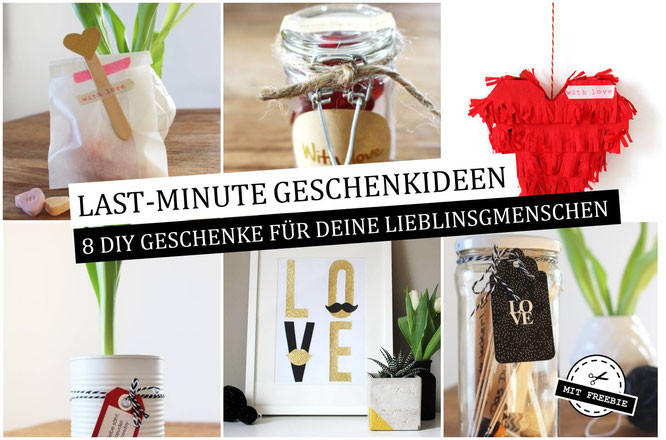 Diy Geschenke Last Minute  Last Minute Geschenkideen zum Valentinstag Partystories Blog