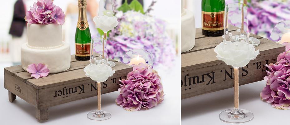 Diy Hochzeitsdeko  DIY Blütenglas für Hochzeit