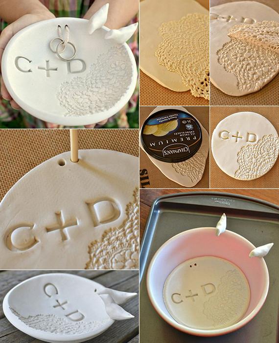 Diy Hochzeitsdeko  Deko basteln mit Spitze 17 coole Bastelideen für DIY